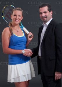 часы и теннис