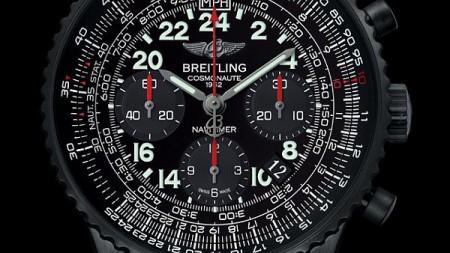 Breitling Navitimer Cosmonaute Blacksteel