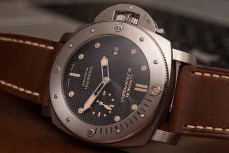 Panerai Luminor Submersible Left-Handed Titanio PAM569