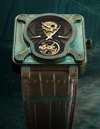 Bell Ross BR 01 Skull Bronze