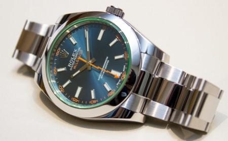 Rolex Milgauss Z Blue Dial