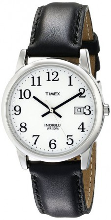 Timex Easy Reader Leather Strap