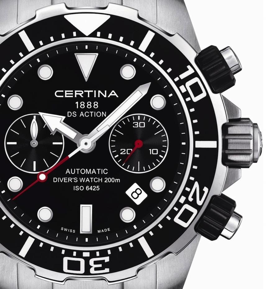 Новые часы Certina DS Action Diver - Всё о часах
