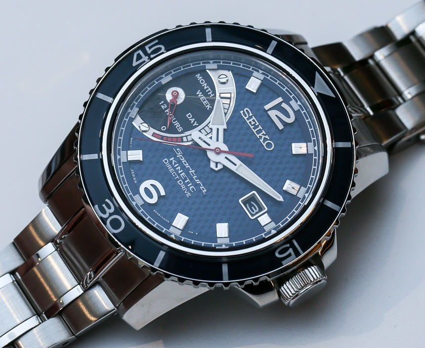 Seiko Sportura Kinetic Direct Drive