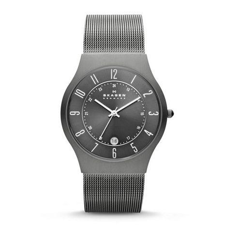 титановые часы Skagen