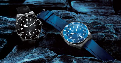 титановые часы Tudor