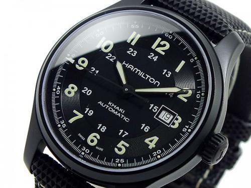 титановые часы Hamilton