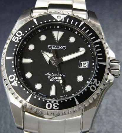 титановые часы Seiko