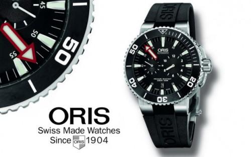 титановые часы Oris