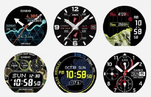 умные часы Casio WSD-F10