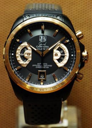 TAG Heuer Grand Carrera Calibre 17 RS Rose Gold Titanium Chronograph