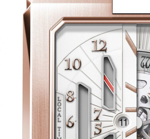 Harry Winston Avenue Dual Time Automatic