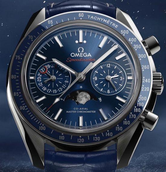 Omega Speedmaster Moonphase Chronograph