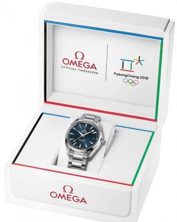 Omega Seamaster Aqua Terra PyeongChang 2018
