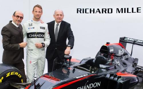 Richard Mille McLaren-Honda Formula 1