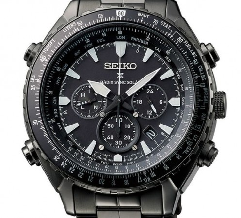 Seiko Prospex Radio Sync Solar World Time Chronograph