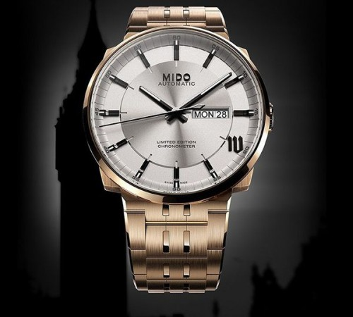 Mido Big Ben Watch Design