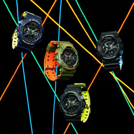Casio G-Shock GA110LN Layered Neon