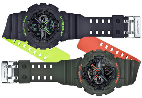 Casio G-Shock GA110LN Layered Neon