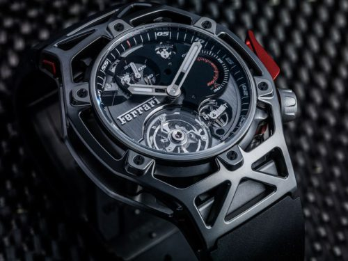 Hublot Techframe Ferrari Tourbillon Chronograph