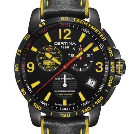 Certina DS Podium Lap Timer Chronograph
